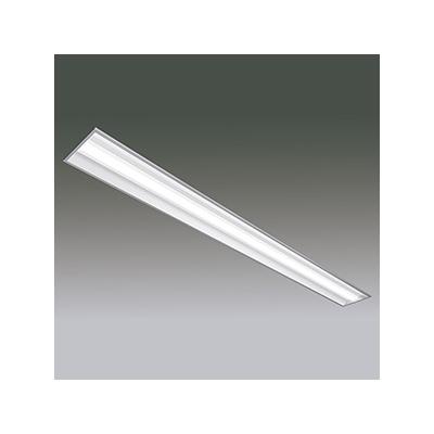 アイリスオーヤマ 【受注生産品】一体型LEDベースライト 《LXラインルクス》 110形 埋込型 幅220mmタイプ 調光タイプ 10000lmタイプ FLR110形×2灯器具相当 節電タイプ 温白色 LX160F-89WW-UK110T-W240-D