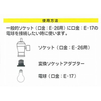 YAZAWA(ヤザワ) 転換アダプタ  SF4201 画像3