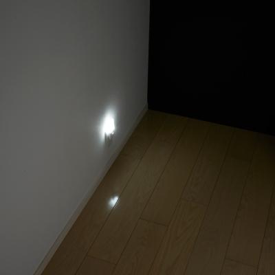YAZAWA(ヤザワ) 明暗LEDセンサーライト ホワイト  NASN23WH 画像4