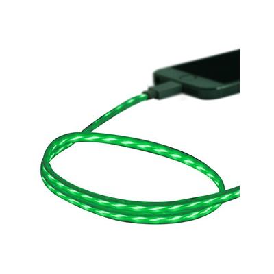 藤本電業 イルミネーションケーブル Lightningケーブル ケーブル長80cm グリーン×ホワイト  CK-L03GRWH 画像2