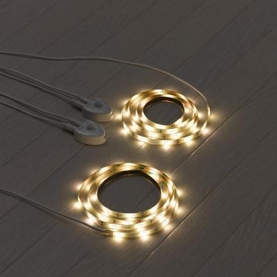 YAZAWA(ヤザワ) テープセンサーライトD 白色LED×36灯 人感・明暗センサー付  NASMN49WH