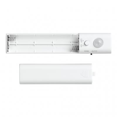 YAZAWA(ヤザワ) テープセンサーライトM 乾電池式 白色LED×30灯 人感センサー付  NBMN51WH 画像3