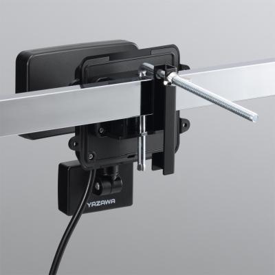YAZAWA(ヤザワ) LEDセンサーライト ACコンセント式 防雨タイプ 調光タイプ 6W白色LED×1灯 リモコン付  SLR6LEA 画像2