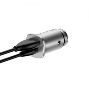 BASEUS(ベースアス) カーチャージャー USB2ポート 最大出力3.1A ブラック  DCCALL-ML01 画像4