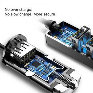 BASEUS(ベースアス) カーチャージャー USB4ポート 出力最大5.5A ブラック  DCCTON-01 画像4