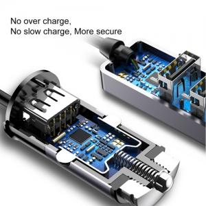 BASEUS(ベースアス) カーチャージャー USB4ポート 出力最大5.5A ダークグレー  DCCTON-0G 画像4