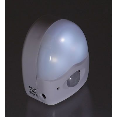 YAZAWA(ヤザワ) 3LEDミニ赤外線センサーライト 高輝度白色LED×3灯 SE40