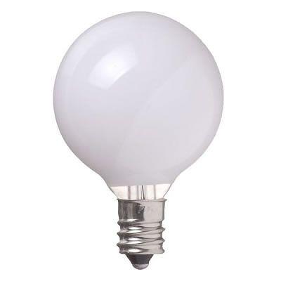 YAZAWA(ヤザワ) ベビーボール球 G40 E12 5W ホワイト G401205W