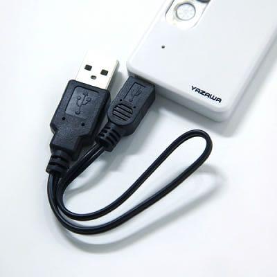 YAZAWA(ヤザワ) USB充電式ライター  TVR23WH 画像4