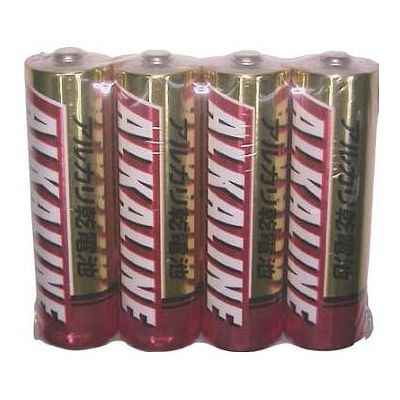 三菱アルカリ単3電池4本PLR6R4S