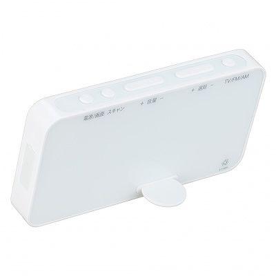 YAZAWA(ヤザワ) 【在庫限り】2.3インチ防水ワンセグテレビホワイト  TV05WH 画像6