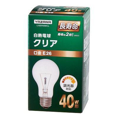 YAZAWA(ヤザワ)  L100V40WCL
