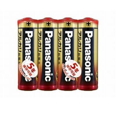 パナソニック アルカリ乾電池 単3形 4個入×10パックセット  LR6XJ4SE-10SET