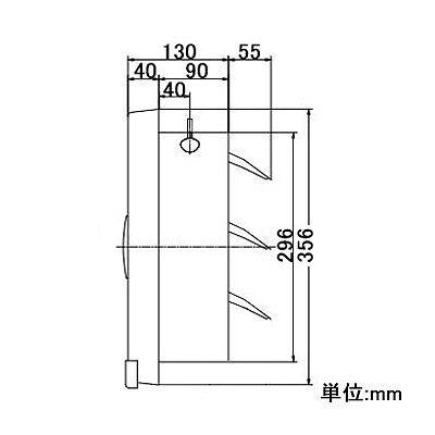 高須産業 台所用・一般用換気扇 オール金属製換気扇タイプ 25cm 電気式シャッター 遠隔操作式  FTK-250ES 画像3