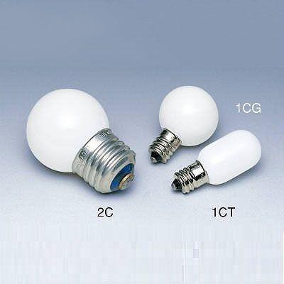 日立小丸電球 ホワイト E12F110V5W-1CT