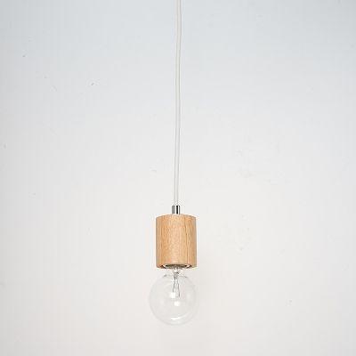 YAZAWA(ヤザワ) ウッドヌードペンダントライト(ダクトレール用) シリンダー ナチュラル 電球なし(1灯)  Y07ICLX60X04NA 画像2