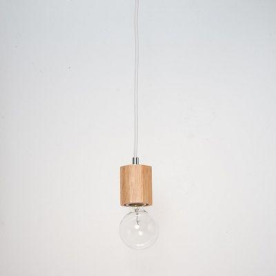 YAZAWA(ヤザワ) ウッドヌードペンダントライト(ダクトレール用) オクダゴン ナチュラル 電球なし(1灯)  Y07ICLX60X05NA 画像2