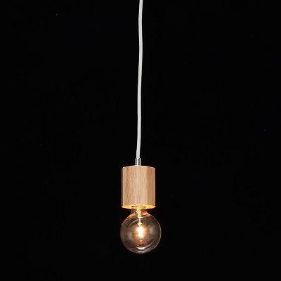 YAZAWA(ヤザワ) ウッドヌードペンダントライト(ダクトレール用) オクダゴン ナチュラル 電球なし(1灯)  Y07ICLX60X05NA 画像3