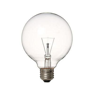 YAZAWA(ヤザワ) 長寿命 ボール電球 G95 クリア 60W形 E26 GC100110V57W95L
