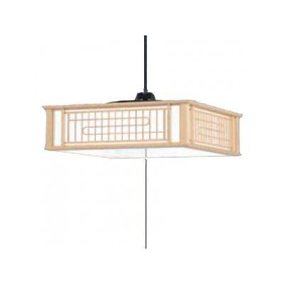 日立 LEDペンダントライト ~8畳用 高級和風木枠シリーズ 昼光色 調光機能付  LEP-CA805EJ