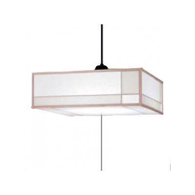 日立 LEDペンダントライト ~8畳用 高級和風木枠シリーズ 昼光色 調光機能付  LEP-CA806EJ