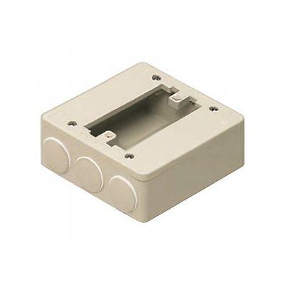未来工業 PVKボックス 器具用 ベージュ PVK-ALN1PKJ