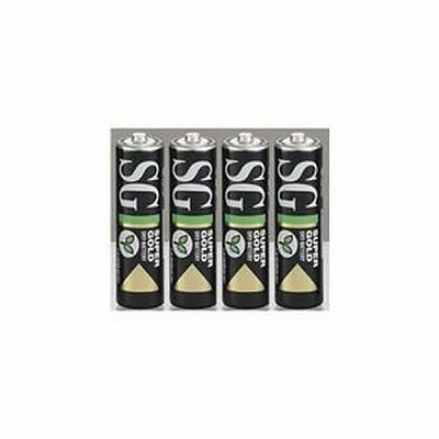 日立 マンガン乾電池単3形黒 R6PUSG4P