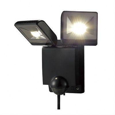 OPTEX(オプテックス) ★センサライトLED2灯タイプ(ブラック)  LA22LEDBL