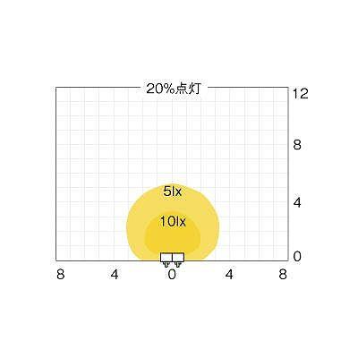 OPTEX(オプテックス) ★センサライトLED調光2灯タイプ  EL202L 画像4