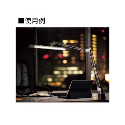 山田照明 LEDスタンドライト クランプ式 白熱灯150W相当 調光機能付 ホワイト 《Zライト》  Z-10NW 画像4