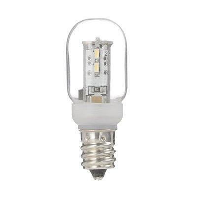 YAZAWA(ヤザワ) ナツメ形LEDランプ電球色E12クリア LDT1LG20E12