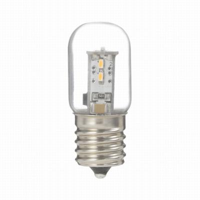 YAZAWA(ヤザワ) ナツメ形LEDランプ電球色E17クリア LDT1LG20E17