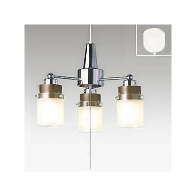 タキズミ LEDシャンデリア LED電球(LDA)×3灯 電球色 高さ調節可能(コード収納型)  TLP-307