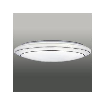東芝 高演色LEDシーリングライト ~12畳 《キレイ色-kireiro-》 調光・調色(電球色~昼光色)機能付 〔リースシルバー〕  LEDH82613N-LC