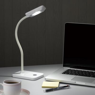 YAZAWA(ヤザワ) 【在庫限り】蓄電池LEDスタンドライトUSB白  Y07SDL04W03WH 画像2