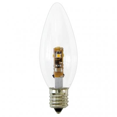 YAZAWA(ヤザワ) C32形LEDランプ電球色E17クリア LDC1LG32E173