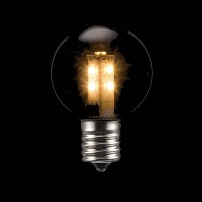 YAZAWA(ヤザワ) G40形LEDランプ電球色E17クリア LDG1LG40E173