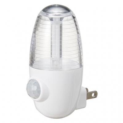 YAZAWA(ヤザワ) LEDセンサーナイトライトホワイト2個セット  NASMN01WH2P 画像2