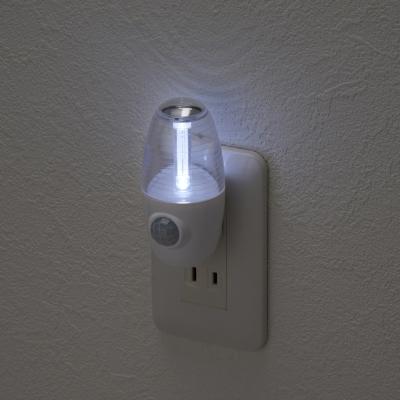 YAZAWA(ヤザワ) LEDセンサーナイトライトホワイト2個セット  NASMN01WH2P 画像4