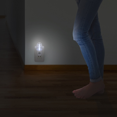 YAZAWA(ヤザワ) LEDセンサーナイトライトホワイト2個セット  NASMN01WH2P 画像5