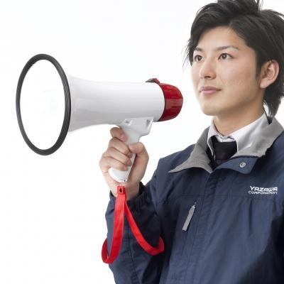 YAZAWA(ヤザワ) ハンドメガホン 10W  Y01HM10WH 画像5