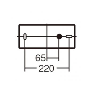 パナソニック LEDブラケット 20形直管蛍光灯1灯相当 天井直付型 壁直付型 拡散タイプ 昼白色  LSEB4011LE1 画像2