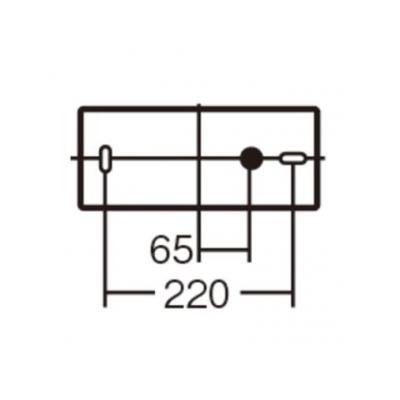 パナソニック LEDブラケット 20形直管蛍光灯1灯相当 天井直付型 壁直付型 拡散タイプ 電球色  LSEB4012LE1 画像2