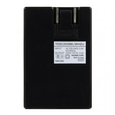 YAZAWA(ヤザワ) 【在庫限り】3.4A USBアダプター ブラック  Y02C200BK2U 画像5
