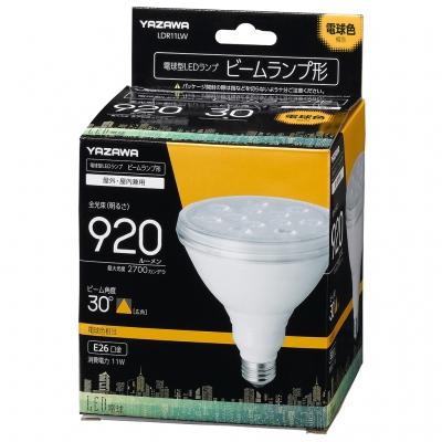 YAZAWA(ヤザワ) ビーム形LEDランプ11W 電球色  LDR11LW 画像2