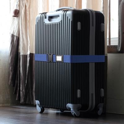 YAZAWA(ヤザワ) 【在庫限り】スーツケースベルトブルー  TVR56BL 画像3