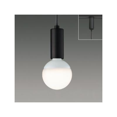 東芝 LED小形ペンダントライト ランプ別売 レール用プラグタイプ 鋼板/ブラック  LEDP88140(K)R