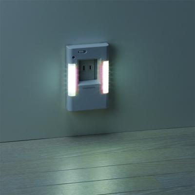 YAZAWA(ヤザワ) ナイトライト 明暗ウォール型(2方向タイプ)  NASN09WH 画像3