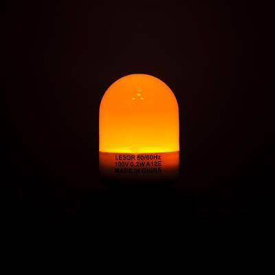 YAZAWA(ヤザワ) 3LED常夜灯 E12 橙 LE3OR