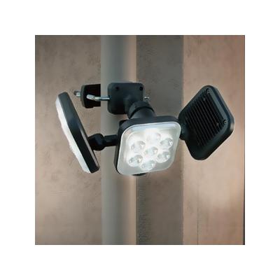 RITEX(ライテックス) フリーアーム式LEDセンサーライト 防雨型 コンセント式タイプ 天井取付可 8W×3灯 2250lm ハロゲン450W相当  CAC-24 画像2